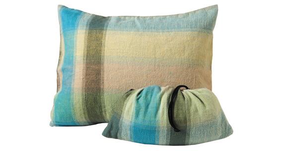 Cocoon Pillow Case Cotton Flannel Medium african rainbow